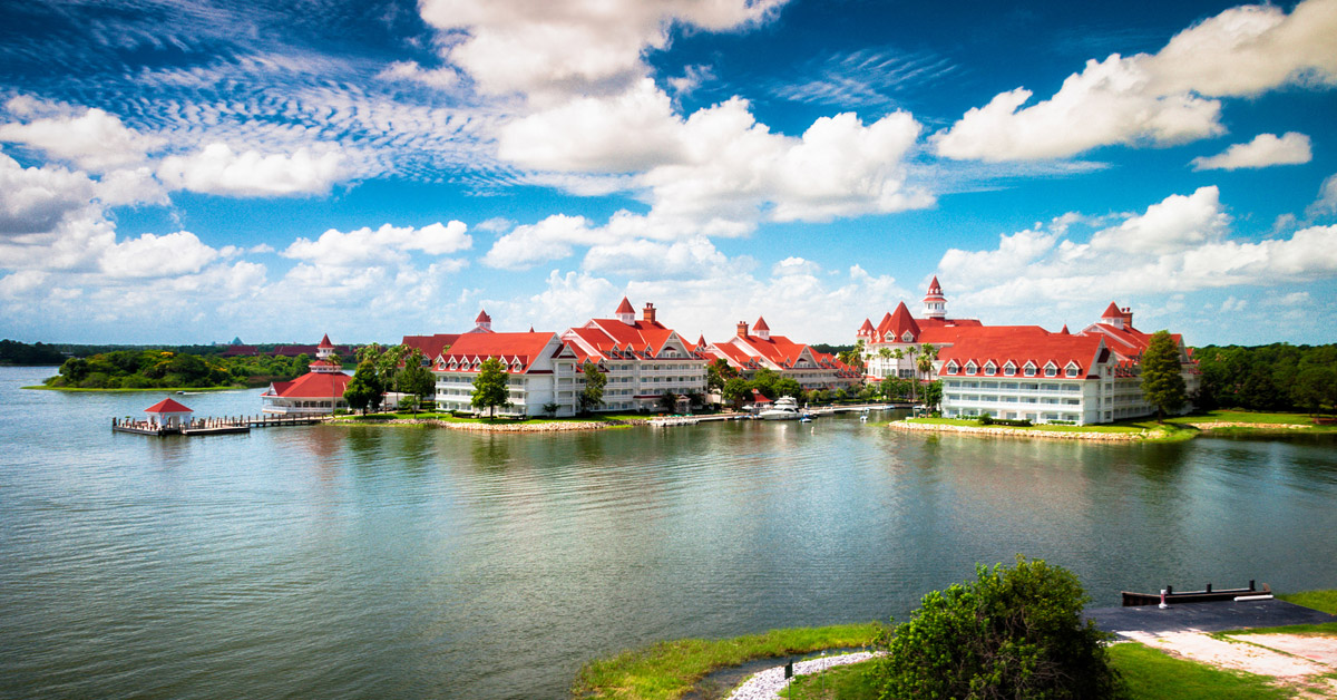 can you park at the grand floridian